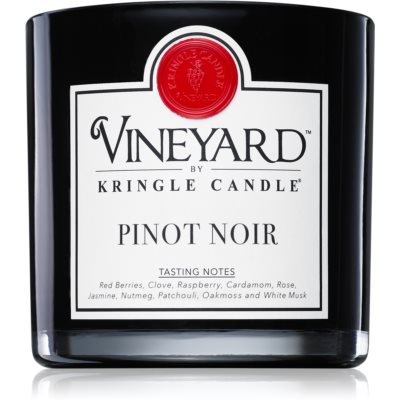 Kringle Candle Vineyard Pinot Noir dišeča sveča