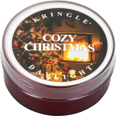 Kringle Candle Cozy Christmas teelicht