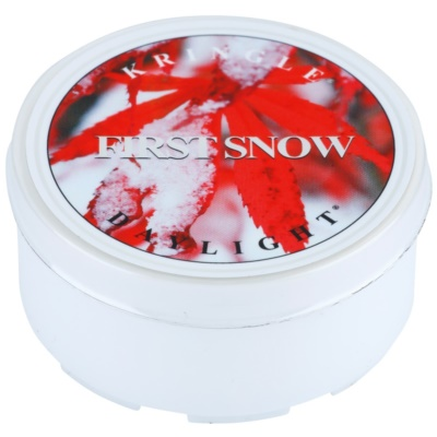 Kringle Candle First Snow Tealight Candle
