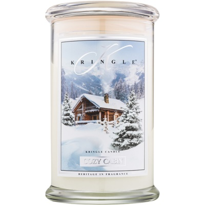 Kringle Candle Cozy Cabin Scented Candle