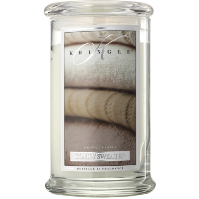 Kringle Candle Comfy Sweater bougie parfumée