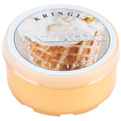 Kringle Candle Vanilla Cone bougie chauffe-plat