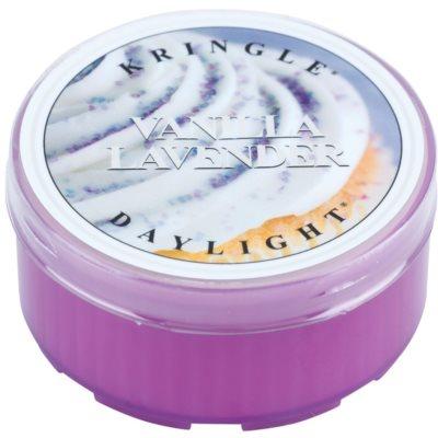 Kringle Candle Vanilla Lavender bougie chauffe-plat