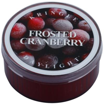 Kringle Candle Frosted Cranberry candela scaldavivande 35 g