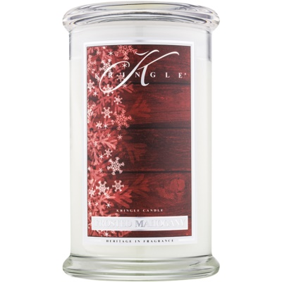 Kringle Candle Frosted Mahogany Αρωματικό κερί