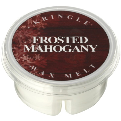 Kringle Candle Frosted Mahogany tartelette en cire