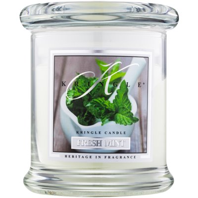 Kringle Candle Fresh Mint Scented Candle