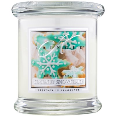 Kringle Candle Coconut Snowflake Scented Candle