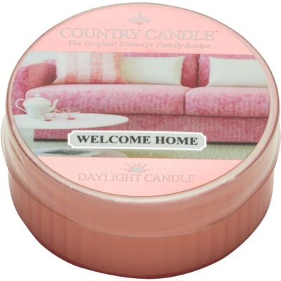 Kringle Candle Country Candle Welcome Home vela de té