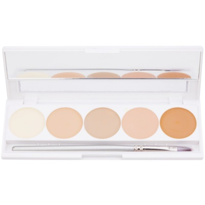 High-Coverage Cream Concealer Palette, 5 Shades