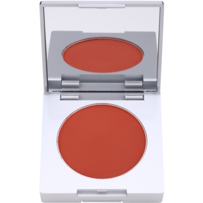 blush compacto com escova e espelho