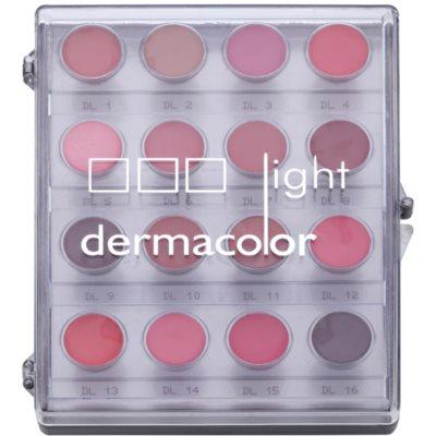 Palette mit 16 Lippenfarben