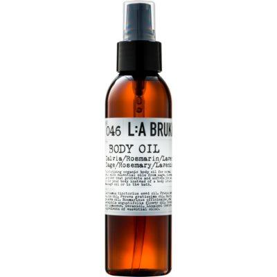 олио за тяло със салвия, розмарин и лавандула