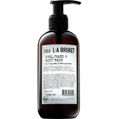 υγρό σαπούνι με λεμονόχορτο για χέρια και σώμα