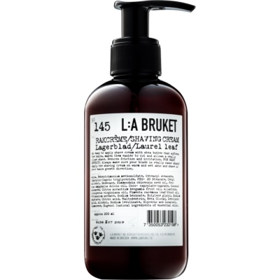 L:A Bruket Shave Shaving Cream with Laurel Leaf
