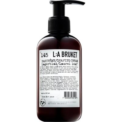 L:A Bruket Shave Rasiercreme mit Lorbeer