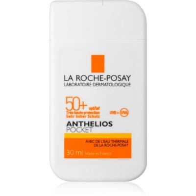 La Roche-Posay Anthelios Pocket cremă protectoare pentru piele sensibilă și intolerantă SPF 50+