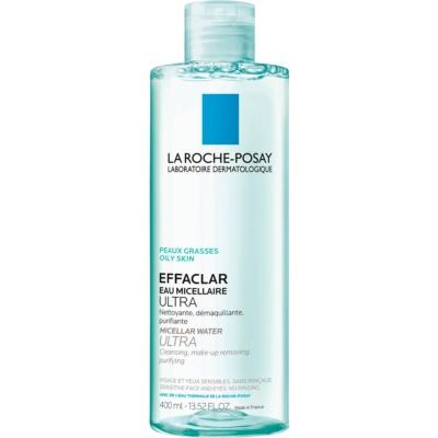 La Roche-Posay Effaclar Ultra eau micellaire nettoyante pour peaux à problèmes, acné