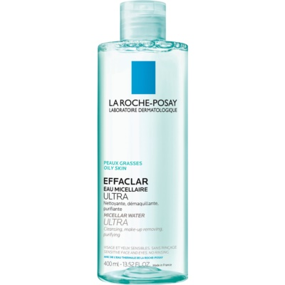 La Roche-Posay Effaclar Ultra tisztító micellás víz problémás és pattanásos bőrre