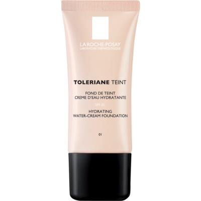 hydratisierendes cremiges Make-up für normale und trockene Haut