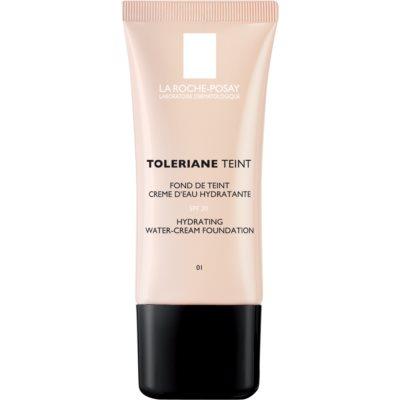 hydratačný krémový make-up pre normálnu až suchú pleť