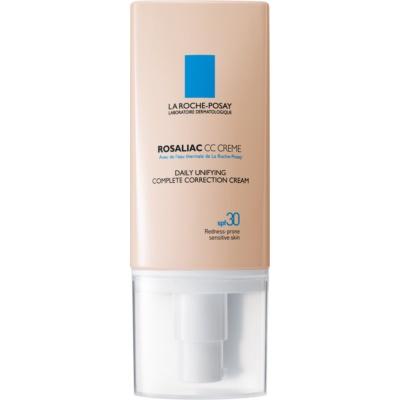 La Roche-Posay Rosaliac CC crème pour peaux sensibles sujettes aux rougeurs