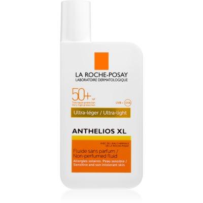 ultra lehký fluid bez parfemace SPF 50+