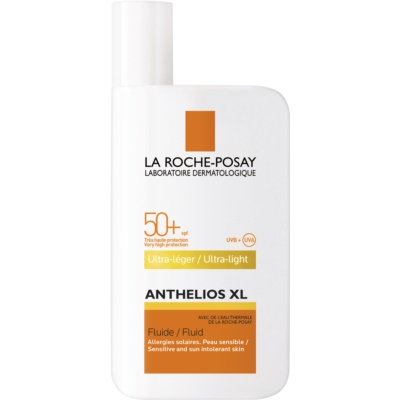 For Sensitive And Sun Intolerant Skin Ultra Light Fluid SPF 50+