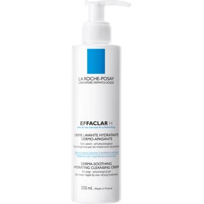 La Roche-Posay Effaclar H Hydraterende Reinigingscrème voor Problematische Huid, Acne