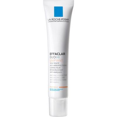 La Roche-Posay Effaclar DUO (+) Tonad utjämnande korrigerande behandling för hud med brister och hyperpigmentering