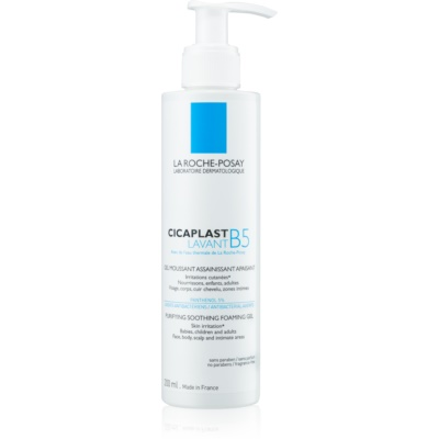 La Roche-Posay Cicaplast Lavant B5 gel spumant cu efect de calmare