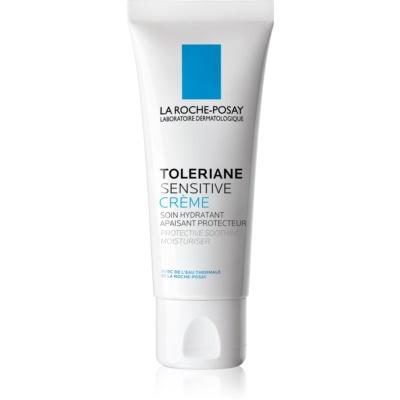 La Roche-Posay Toleriane Sensitive präbiotische feuchtigkeitsspendende Creme zur Empfindlichkeitslinderung der Gesichtshaut