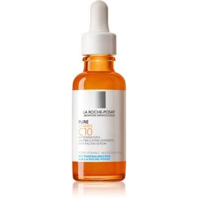 La Roche-Posay Pure Vitamin C10 sérum anti-rides éclat à la vitamine C