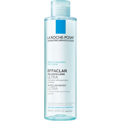 La Roche-Posay Effaclar Ultra Cleansing Micellar Water for Problematic Skin, Acne