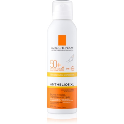 spray protecteur transparent SPF 50+