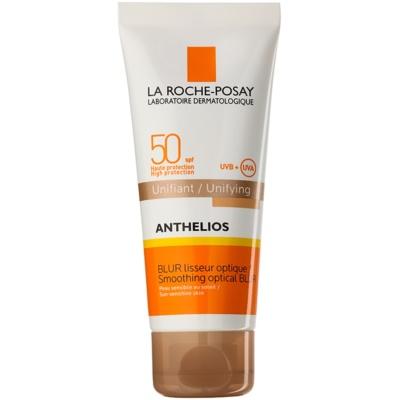 защитен израняващ флуид за изглаждане на кожата SPF 50