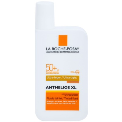 obarvani ultra-lahek fluid SPF 50+