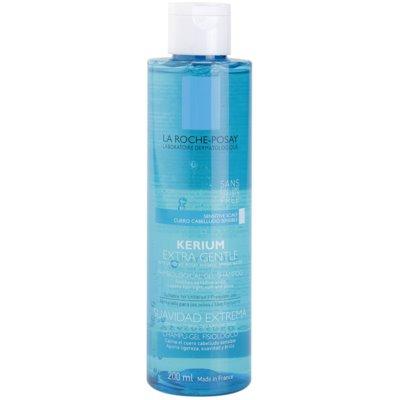 nežni fiziološki gelasti šampon za občutljivo lasišče