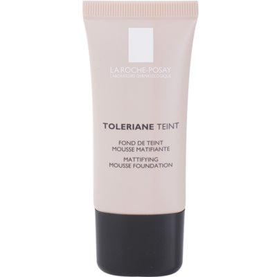 La Roche-Posay Toleriane Teint zmatňujúci penový make-up pre zmiešanú a mastnú pleť