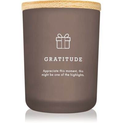 LAB Hygge Gratitude scented candle (Patchouli Myrrh)