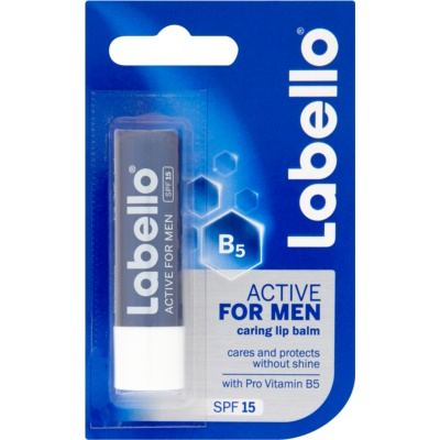 Labello Active Care lippenbalsem voor mannen SPF 15