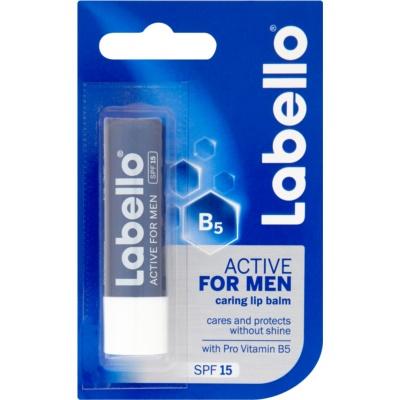 Labello Active Care balzam na pery pre mužov SPF 15
