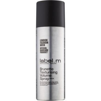 tvarující objemový sprej pro hnědé a tmavé odstíny vlasů