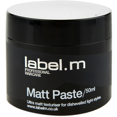 mattirende Paste für Definition und Form