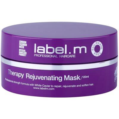 revitalizační maska na vlasy