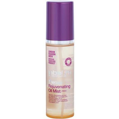 óleo rejuvenescedor para cabelo com óleo de argan