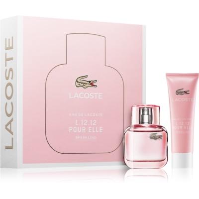 Lacoste Eau de Lacoste L.12.12 Pour Elle Sparkling Gift Set II.  Eau De Toilette 30 ml + Shower Gel 50 ml
