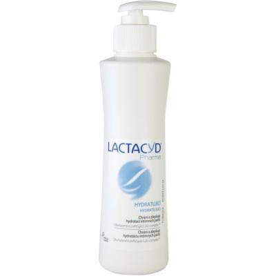 hydratačná emulzia pre intímnu hygienu