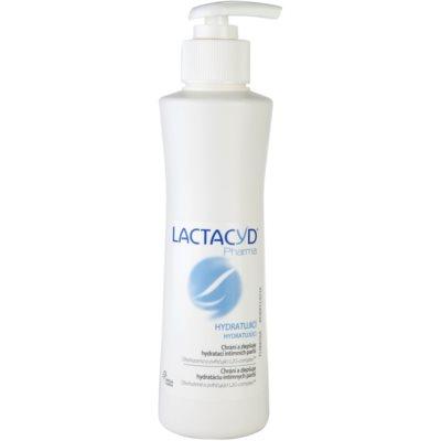 feuchtigkeitsspendende Emulsion zur Intimhygiene