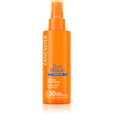 Lancaster Sun Beauty latte abbronzante in spray non unto SPF 30